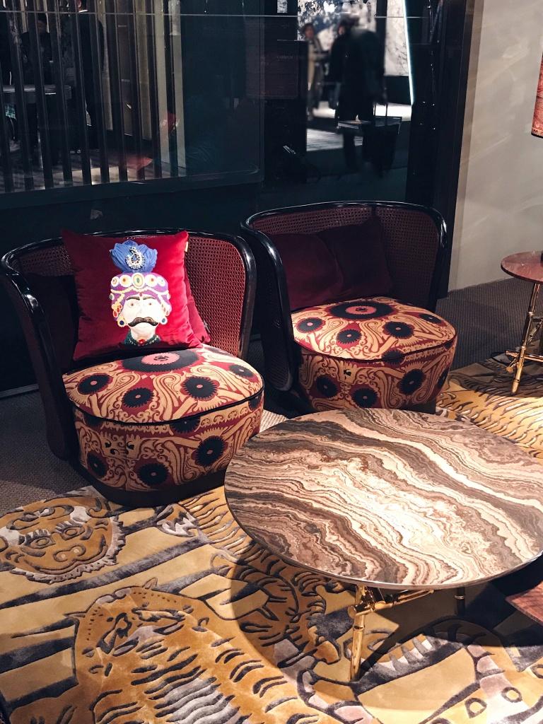 Etro Home Collection 2018 Caral armchair