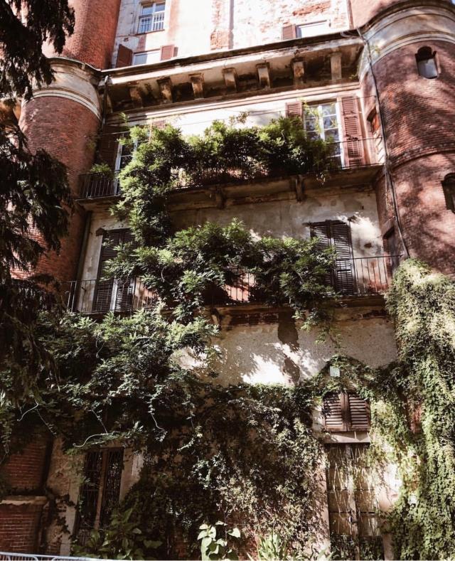 Orto Botanico di Brera in Milan