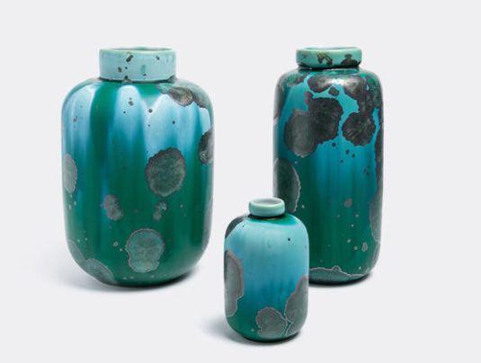 Crystalline Vases Milan Pekar Studio