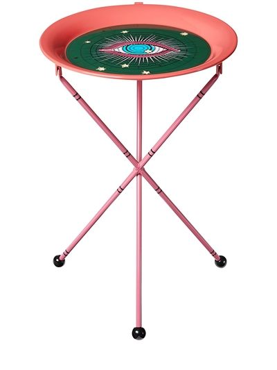 Gucci Star Eye Print Metal Folding Table Gemini