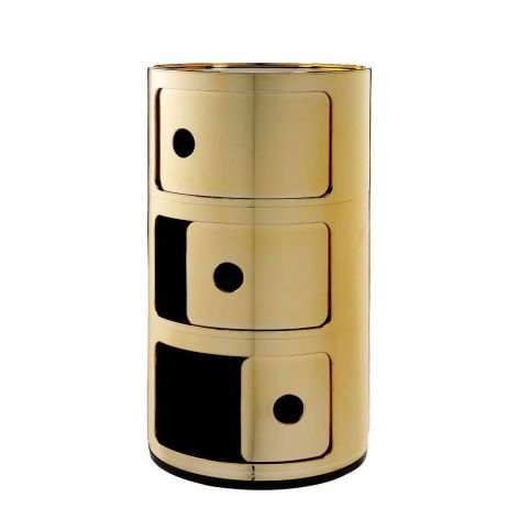 Kartell Componibile gold