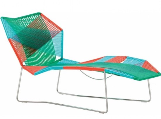 Tropicalia garden chair Patricia Urquiola