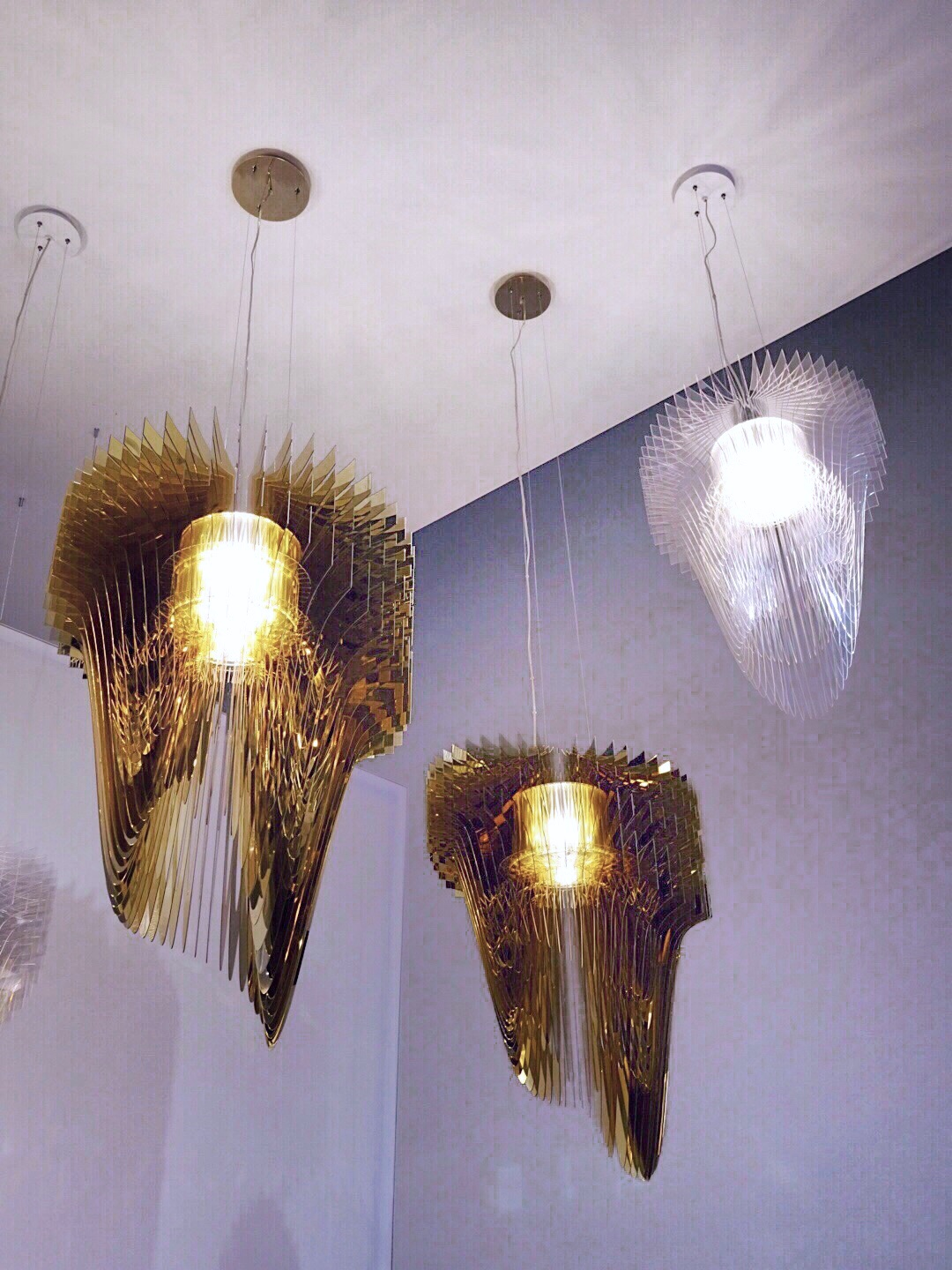 Slamp Aria suspension Zaha Hadid