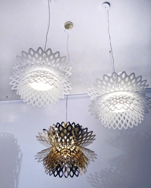 Slamp Desert Rose lamps