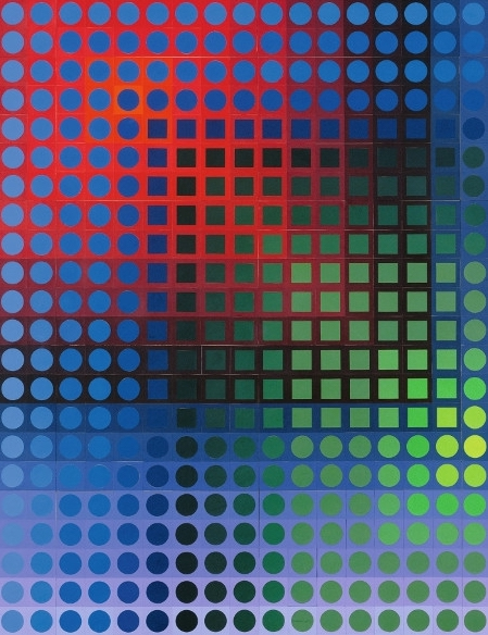 victor vasarely centre pompidou
