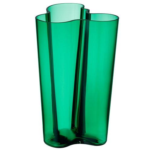Iittala Aalto Vase in green