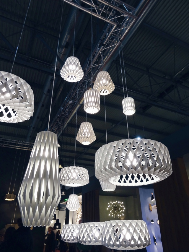 Showroom Finland Pilke lamps Tuukka Halonen