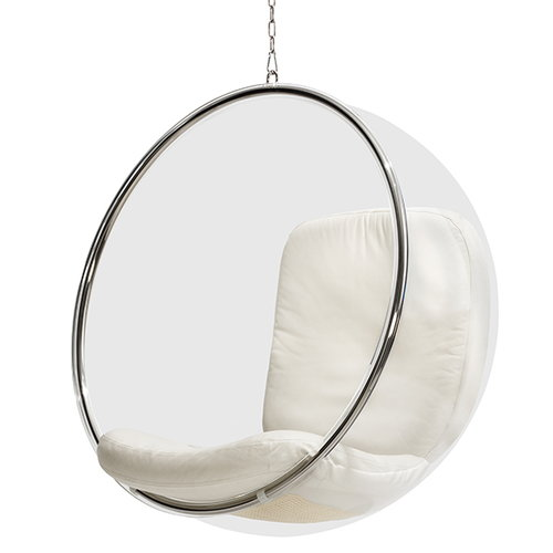 The Bubble chair designed by Eero Aarnio in 1968