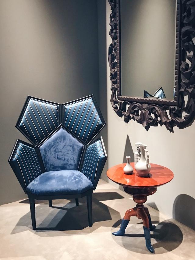 Fratelli Boffi Lui5 armchair Salone del Mobile
