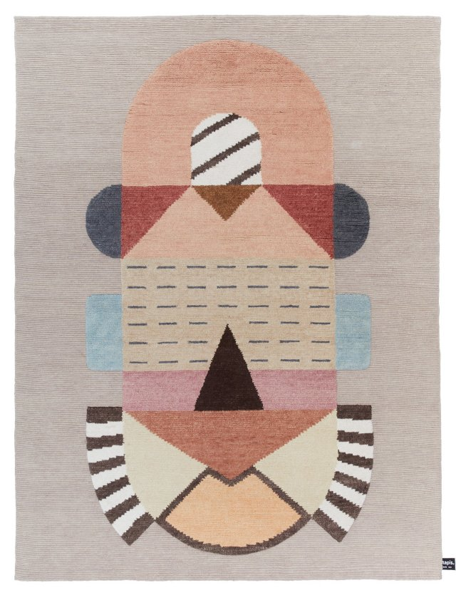 The Cartesio rug by Elena Salmistraro CC-tapis