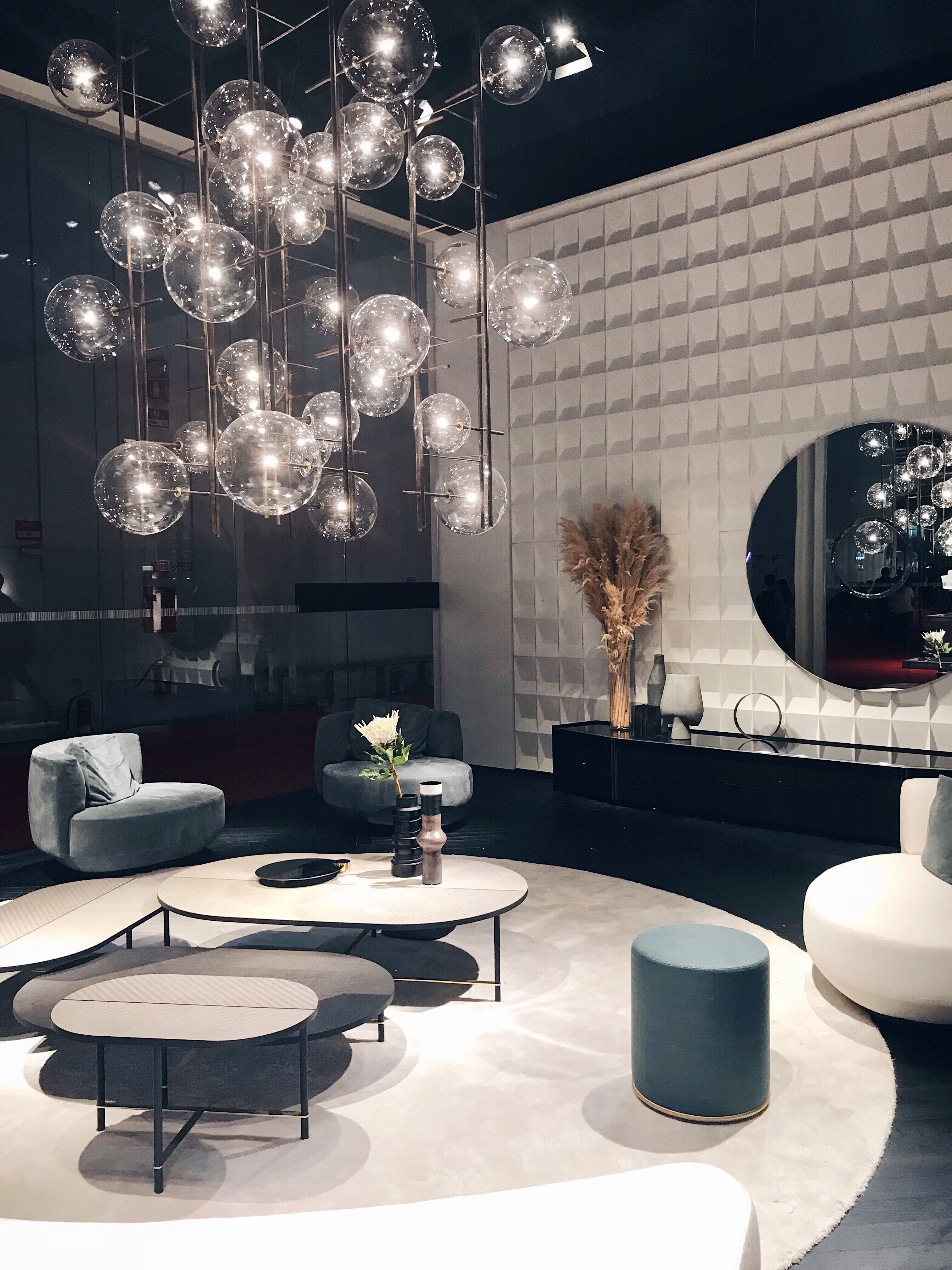 The Bolle suspension lamp by Massimo Castagna for Gallotti & Radice