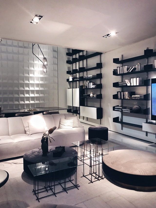 The Brera shelving system by Massimo Castagna for Gallotti & Radice