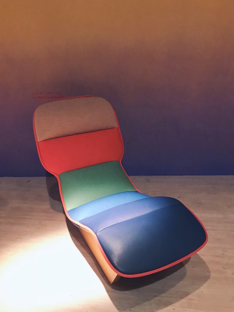 The Lilo chaise longue by Patricia Urquiola for Moroso