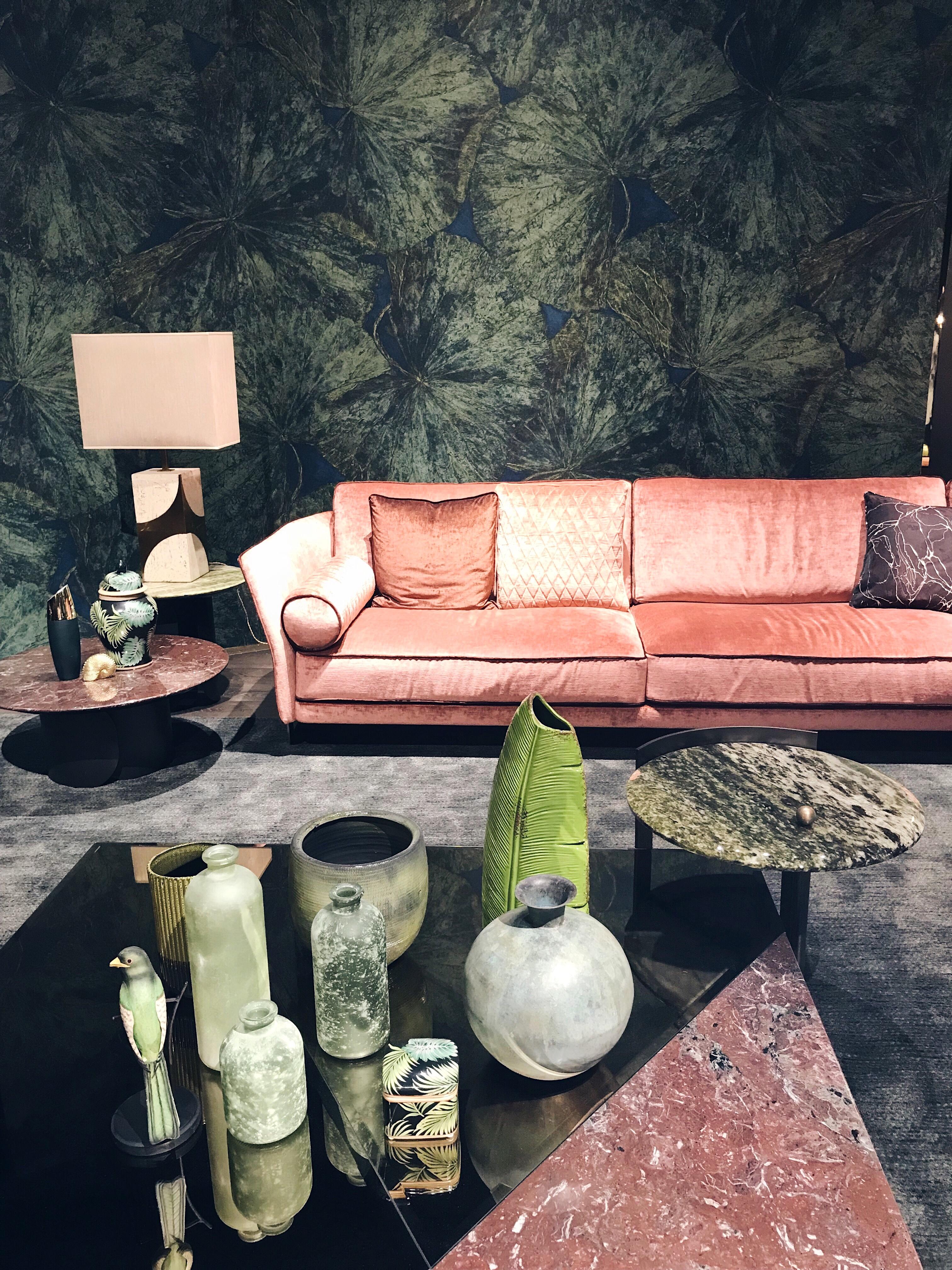The Cosmo sofa by Opera Contemporary Salone del Mobile