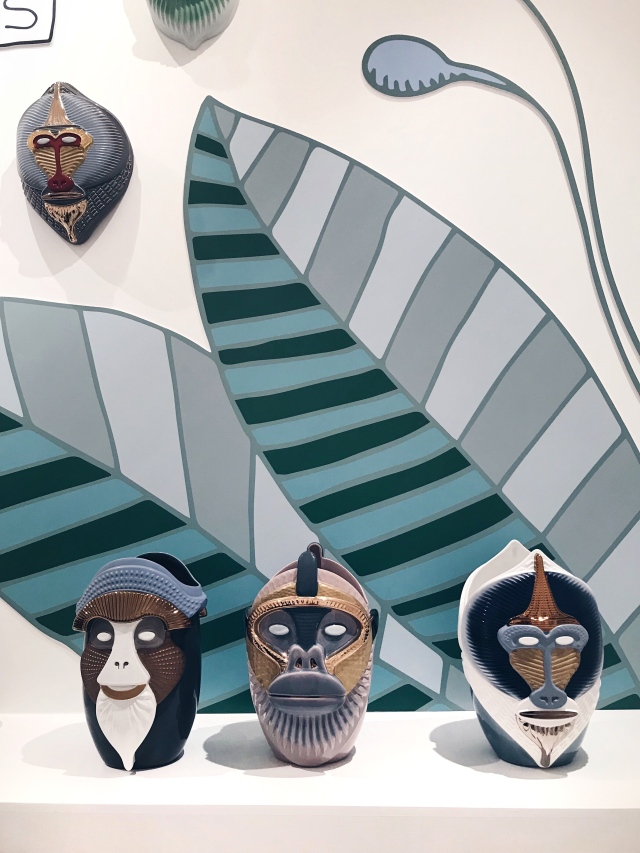 The Primates collection of vases by Elena Salmistraro