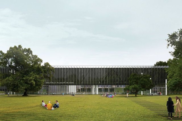 the new Bauhaus Dessau Museum