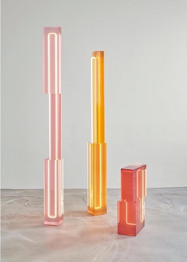 Totem floor lamps by Sabine Marcelis