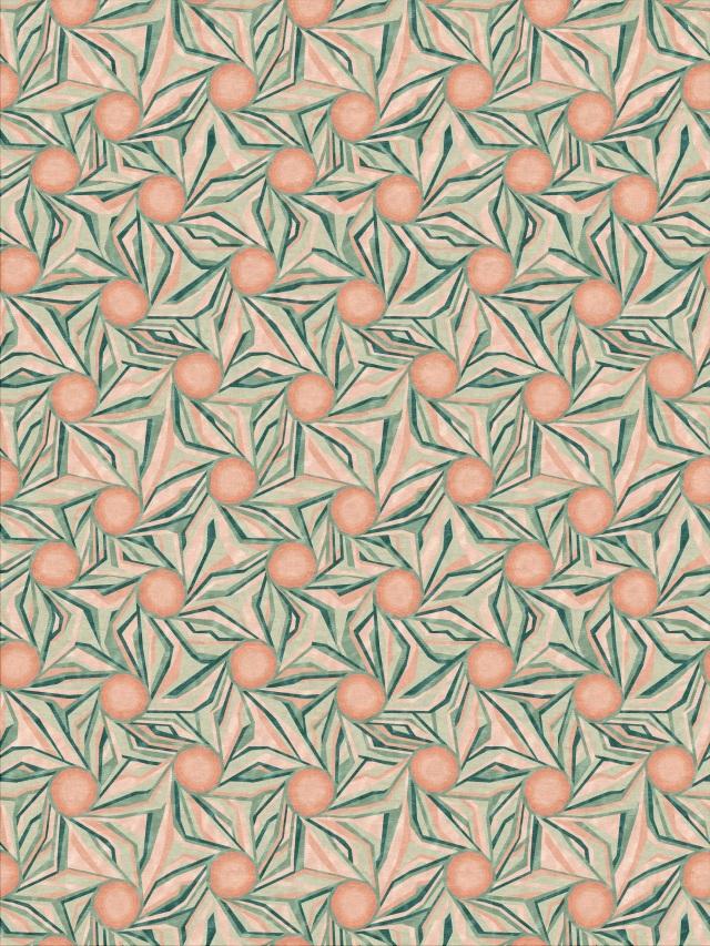 Illulian Cocarde rug by Cristina Celestino