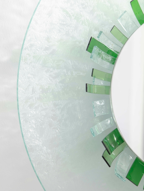 Exto Iride mirror green