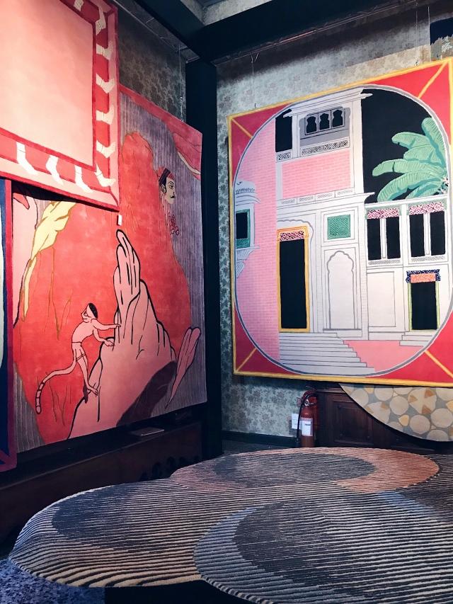 Jaipur Rugs Matteo Cibic Palazzo Litta Fuorisallone 2019