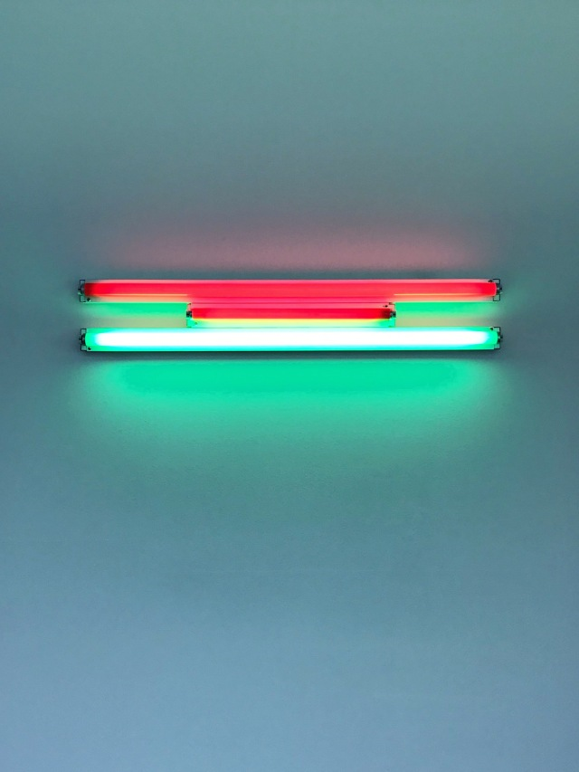 Untitled, 1995. Dan Flavin Cardi Gallery Milano