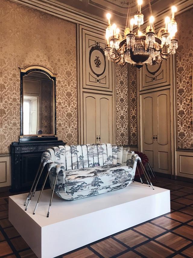 Araignée sofa Marc Ange Palazzo Cusani