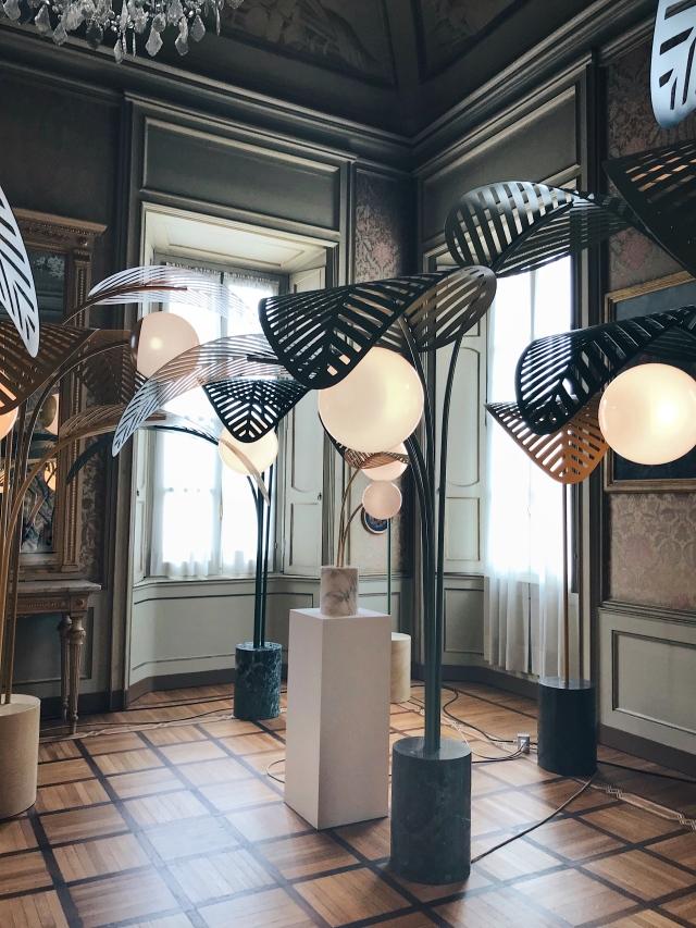 Le Refuge lamps Marc Ange Palazzo Cusani