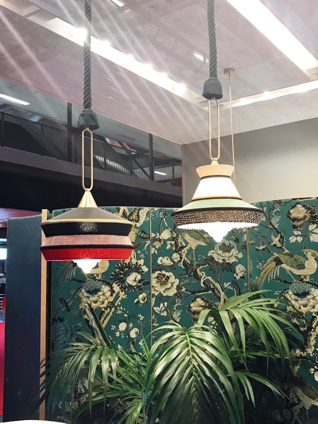 Calypso suspension outdoor lamps by Contardi