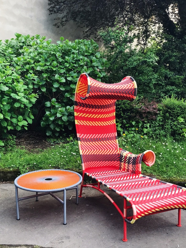 Shadowy chaise longue by Tord Boontje for Moroso