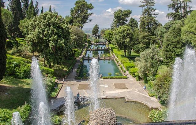 10 most beautiful gardens in Europe Villa D'este Tivoli